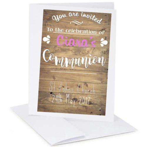 personalised communion gift