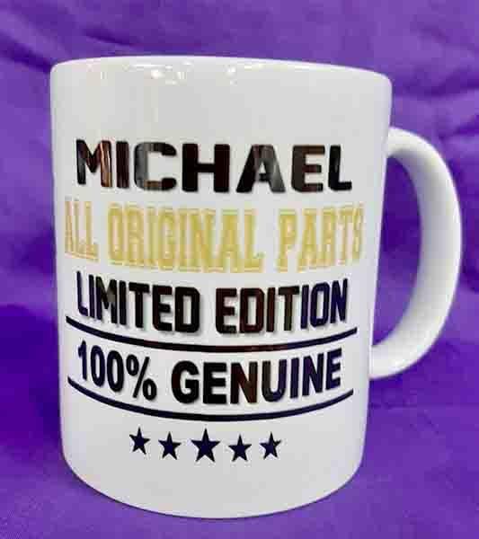 Personalise a mug
