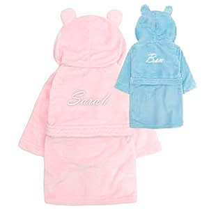 personalised bathrobe