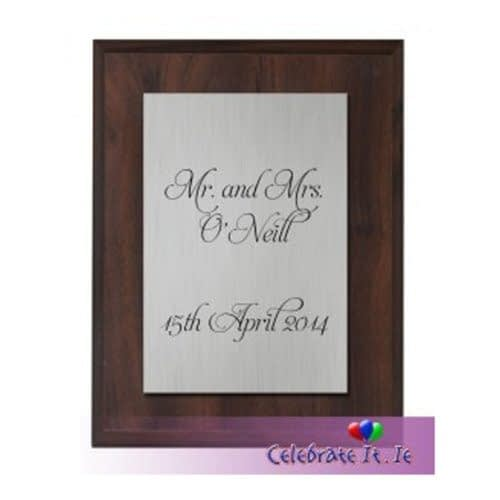 Personalised Mounted Plaque