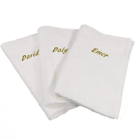 personalised gift towel